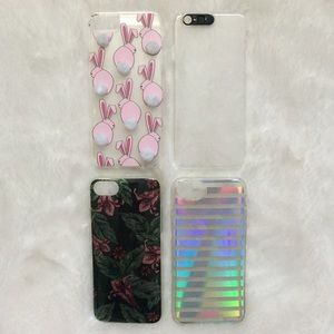 Forever 21 4-Piece Iphone 6 6s 7 Phone Case Lot